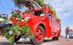 Ronkende motoren en kleurrijke bloemen in De Mooiste File van Nederland